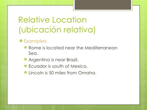 5 themes of geography argentina 5 themes of geography