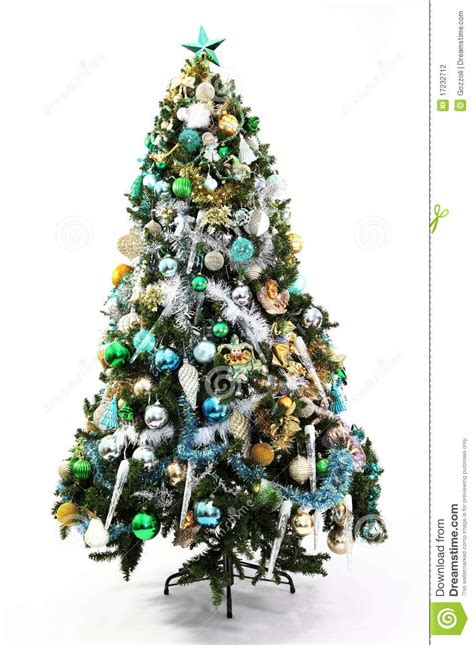 blue and gold christmas trees tree blue green and gold stock photo image 17232712