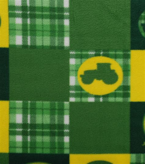 Home Decor Online Shopping Sites john deere tractor patch fleece fabric at joann com
