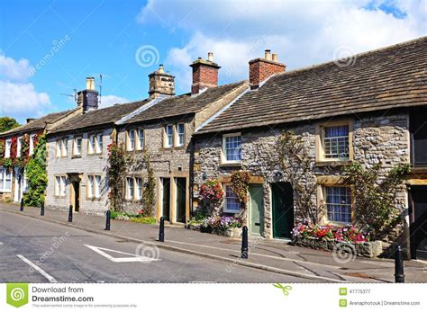 Cottages Europe Cottages Ashford In The Water Editorial
