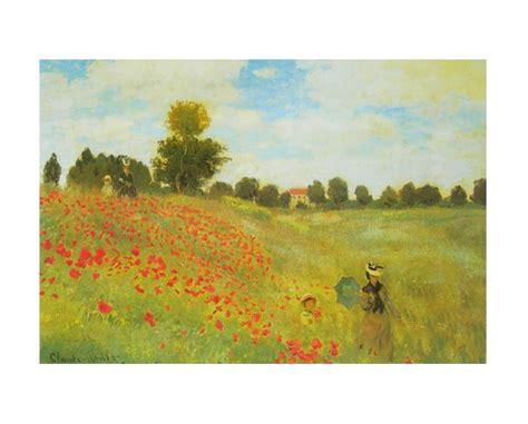 Kunstdrucke Bestellen by Claude Monet Die Mohnblumen Poster Kunstdruck Bei