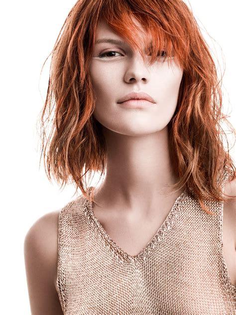 rote mittellange haare damen friseurcom