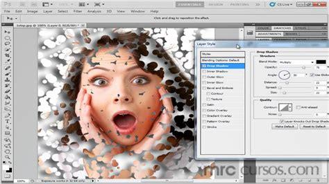 tutorial photoshop cs5 efeitos v 237 deo aula photoshop cs5 efeito em foto youtube