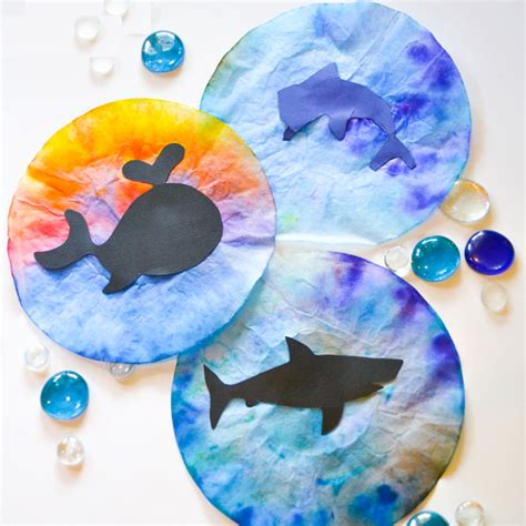 crafts for dolphin craft idea for preschool preschool and kindergarten
