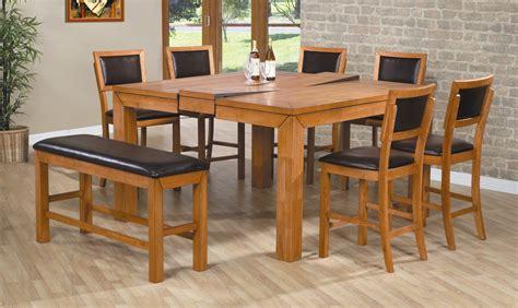 mesas de cocina de madera extensibles mesas de cocina de madera