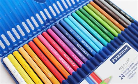 staedtler colored pencils staedtler set for a colourful officesuppliesblog