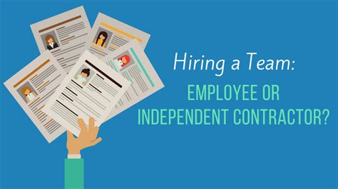 Reddit Mba Independent Consultant by Hiring A Team Employee Or Independent Contractor