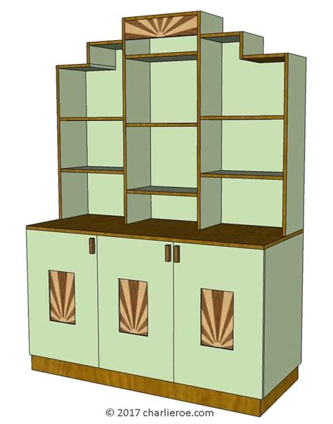 new Art Deco Bookcases, libraries & storage cupboards