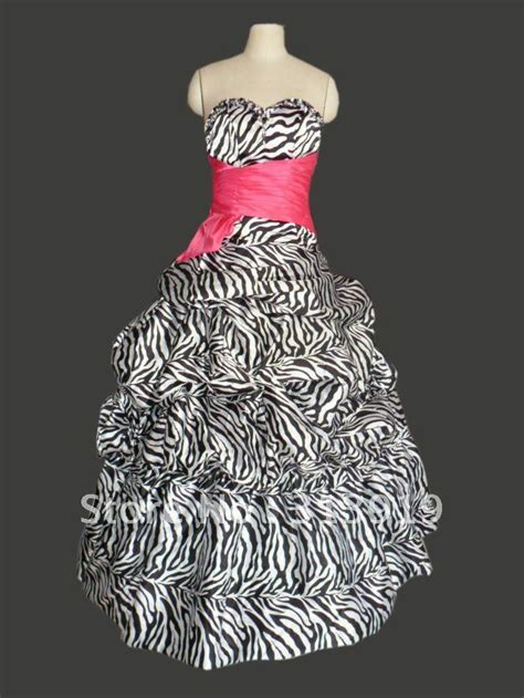 Zebra Dress zebra prom dresses boutique prom dresses