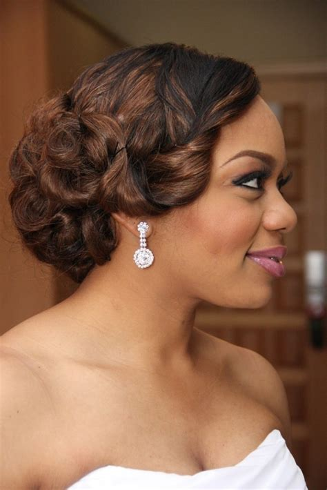 Wedding Hairstyles For Black Brides 2014 by Wedding Hairstyles Ideas 2015 For Black