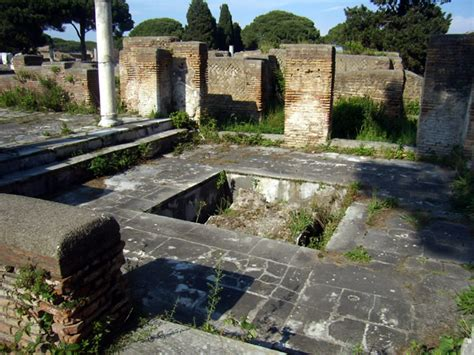 regio i insula xi domus del tempio rotondo i xi 2 3 liste der geb 228 ude in regio i ostia