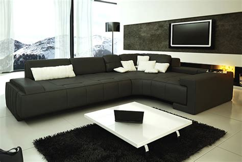 black l shaped couch 10 living room design ideas junk mail blog