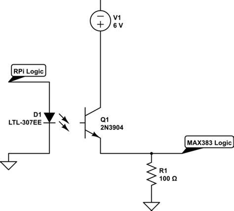no current limiting resistor raspberry pi do i need a current limiting resistor for max383 digital logic electrical