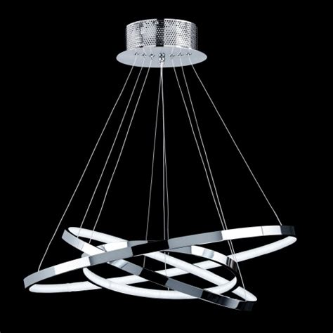 3ch led chrome ceiling pendant the lighting superstore