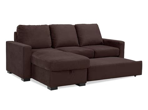 loveseat convertible chester convertible sofa java by lifestyle solutions