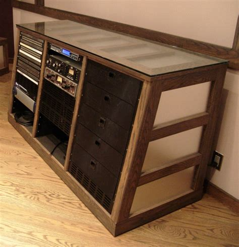 Studio Rack Furniture by Sea Vista Custom Furniture Steven Klein S Sound
