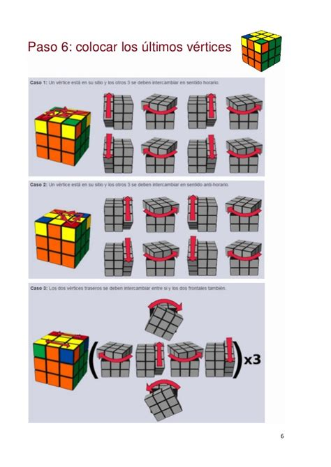 tutorial para armar cubo rubik 3x3 pasos para resolver el cubo de rubik