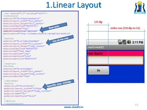 you must supply a layout width attribute android android screen containers layouts