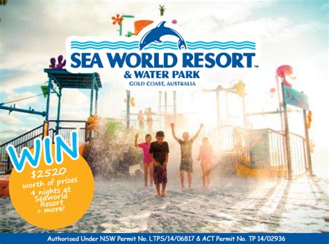 tout mon amour win a 4 night seaworld gold coast holiday australian - Sea World Gift Cards