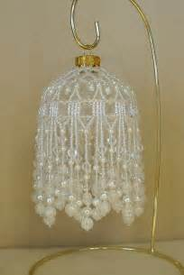 beaded fancy fringed ornament cover beading by studiojamie