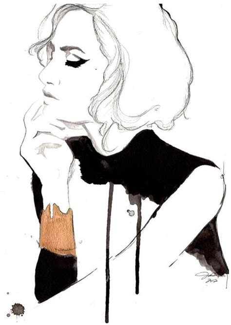 fashion illustration uses fashion illustration stylish arty fashion drawing