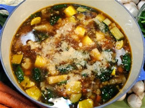 garden vegetable soup recipe emeril s garden vegetable soup recipe abc news