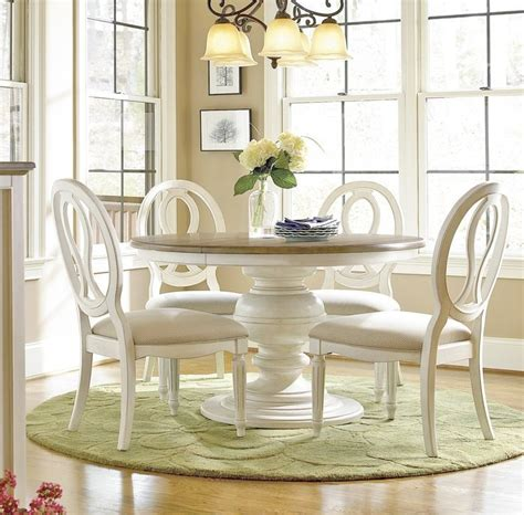 white chair dining set white dinning table set home design