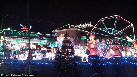 the houses with the best christmas decorations two big