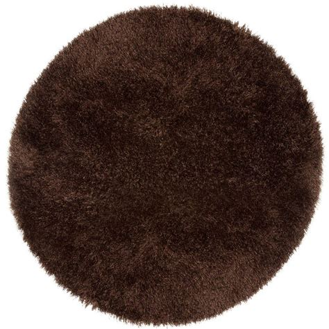 5 ft rugs lavish home shag chocolate 5 ft x 5 ft area rug 62