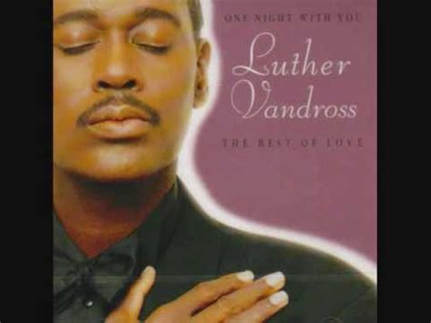 luther vandross make me a believer enhanced youtube