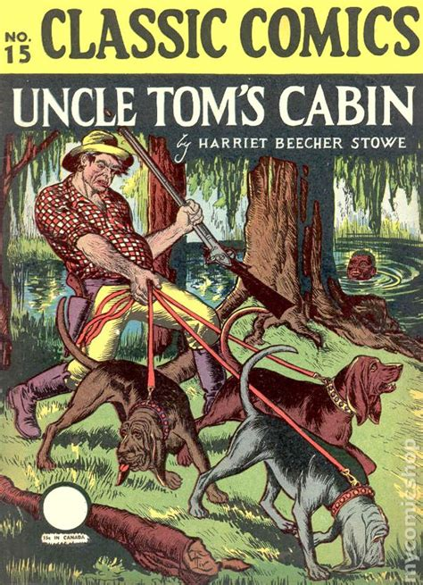 Toms Cabin Characters by Classics Illustrated 015 Tom S Cabin Comic Books