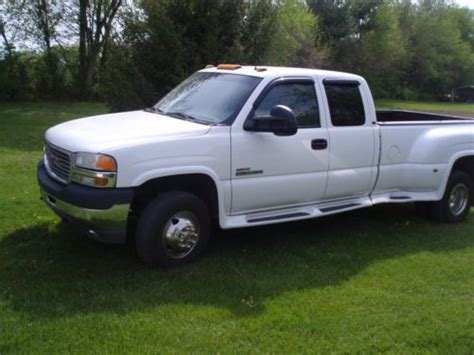 automotive service manuals 2001 gmc sierra 3500 on board diagnostic system sell used 2001 gmc sierra 3500 slt extended cab 6 6l duramax dually chevy silverado in greenwood