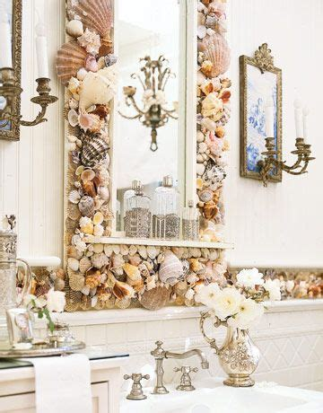 shell bathroom decor 34 rustic bathroom decorating ideas sea shells home and