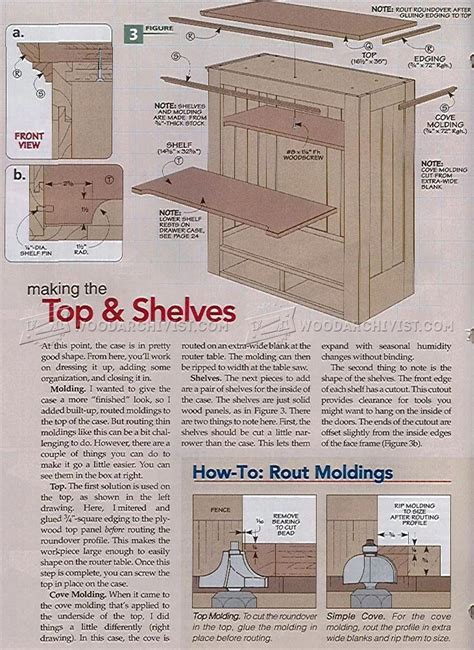 Heirloom Tool Cabinet Plans ? WoodArchivist