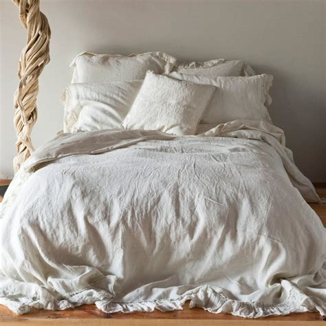 Best Linen Bedcovers Notte Duvet Cover Whisper Linen Traditional