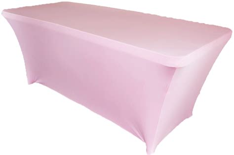 spandex table cover 8 ft rectangular pink spandex table covers