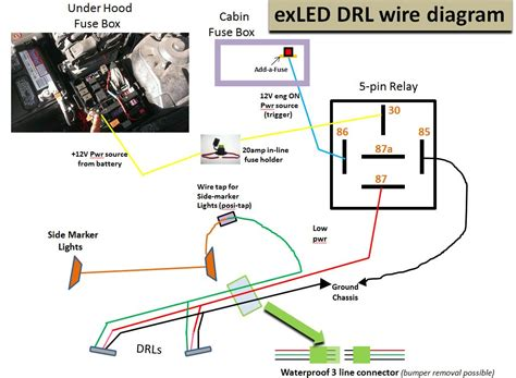 motorcycle turn signal flasher wiring diagram circuit
