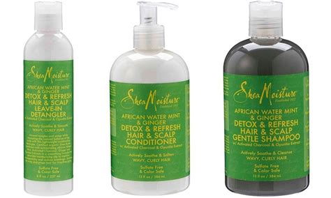 Shea Moisture Detox And Refresh Shoo by Shea Moisture Water Mint And Haircare