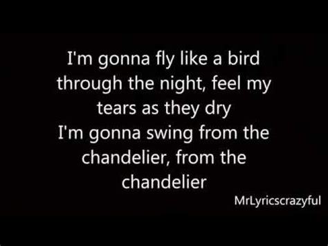 Chandelier Lyrics Chandelier Lyrics Buzzpls