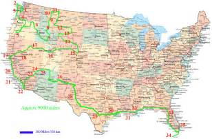 Driving Map Of United States by United States Of America Usa Or U S A Map Pictures