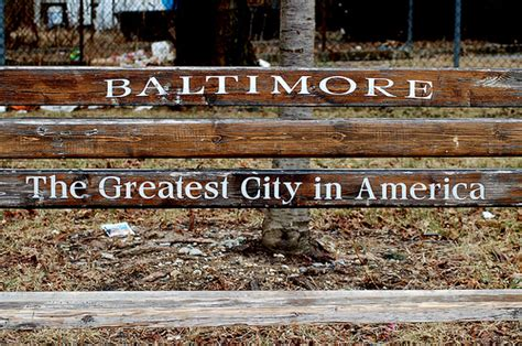 baltimore greatest city in america bench baltimore the greatest city in america sarah massey flickr