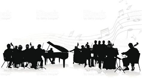orchestra clipart orchestra stock vector more images of artist