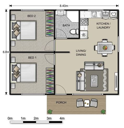 two bedroom apartment layout google search houses converting a double garage into a granny flat google