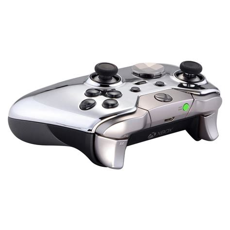 chrome xbox one quot chrome silver quot xbox one elite modded controller moddedzone