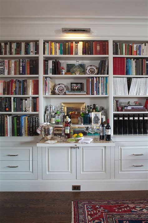 a desk out of bookshelves clever idea pull out bar shelf in bookcases m i l l w