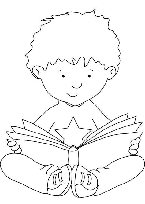 coloring page of reading reading coloring 1 free coloring page site schule