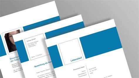Vorlagen Moderne Bewerbungsunterlagen Bewerbung Muster Vom Designer Einfach Nur Individuell Ausf 252 Llen