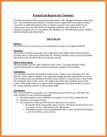 8 formal lab report example marital settlements information