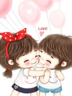 cartoon kissing wallpaper desktop romantic love couple cartoon wallpapers pictures