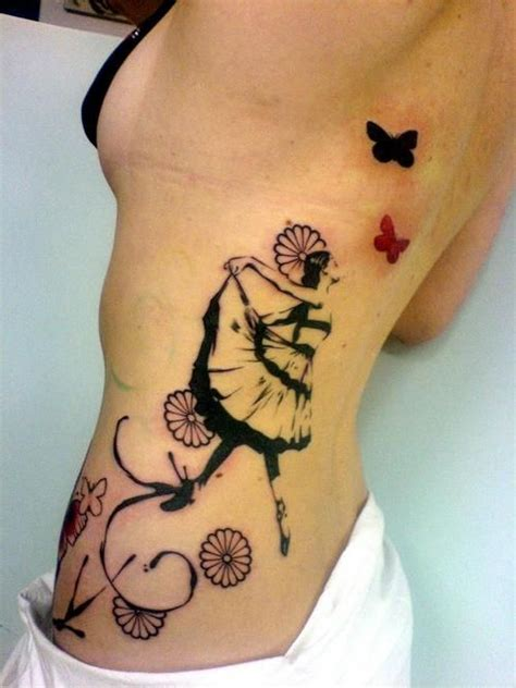 breakthrough tattoo ballet butterflies flowers what s not to this